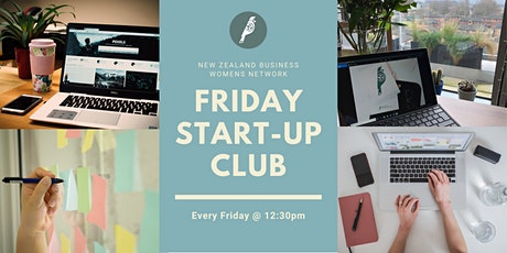 NZBWN Friday Start-up Club tickets