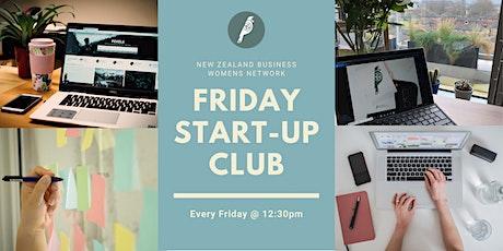 NZBWN Friday Start-up Club tickets