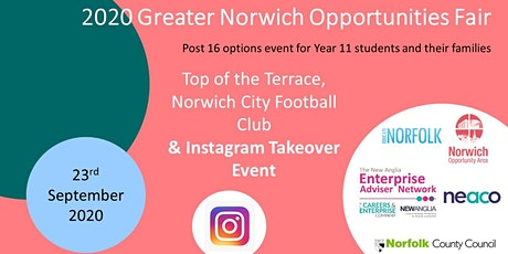 2020 Greater Norwich Opportunities Fair - Exhibitor Invite tickets