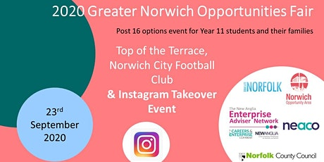 2020 Greater Norwich Opportunities Fair - School Invite tickets