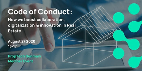 Code of conduct: What do future collaborations in Real Estate look like? biljetter