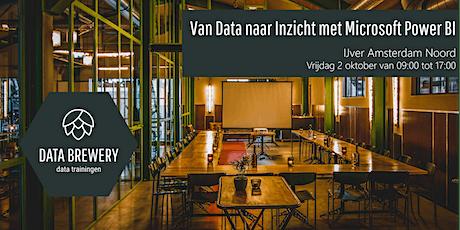 Van Data naar Inzicht met Microsoft Power BI - IJver Amsterdam Noord tickets