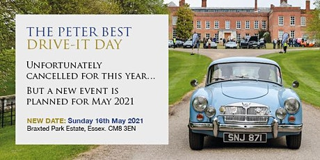 THE PETER BEST DRIVE-IT DAY 2020 (CANCELLED) tickets