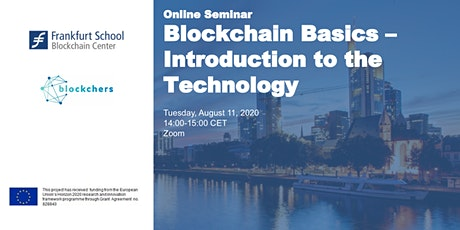 Online Seminar – Blockchain Basics – Introduction to the Technology Tickets