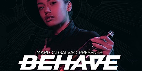Marlon Galvao presents: Behave - Dine in the Dark tickets