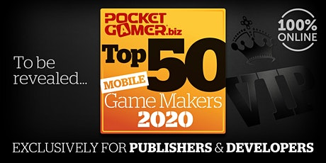 The Top 50 Mobile Game Makers 2020 tickets