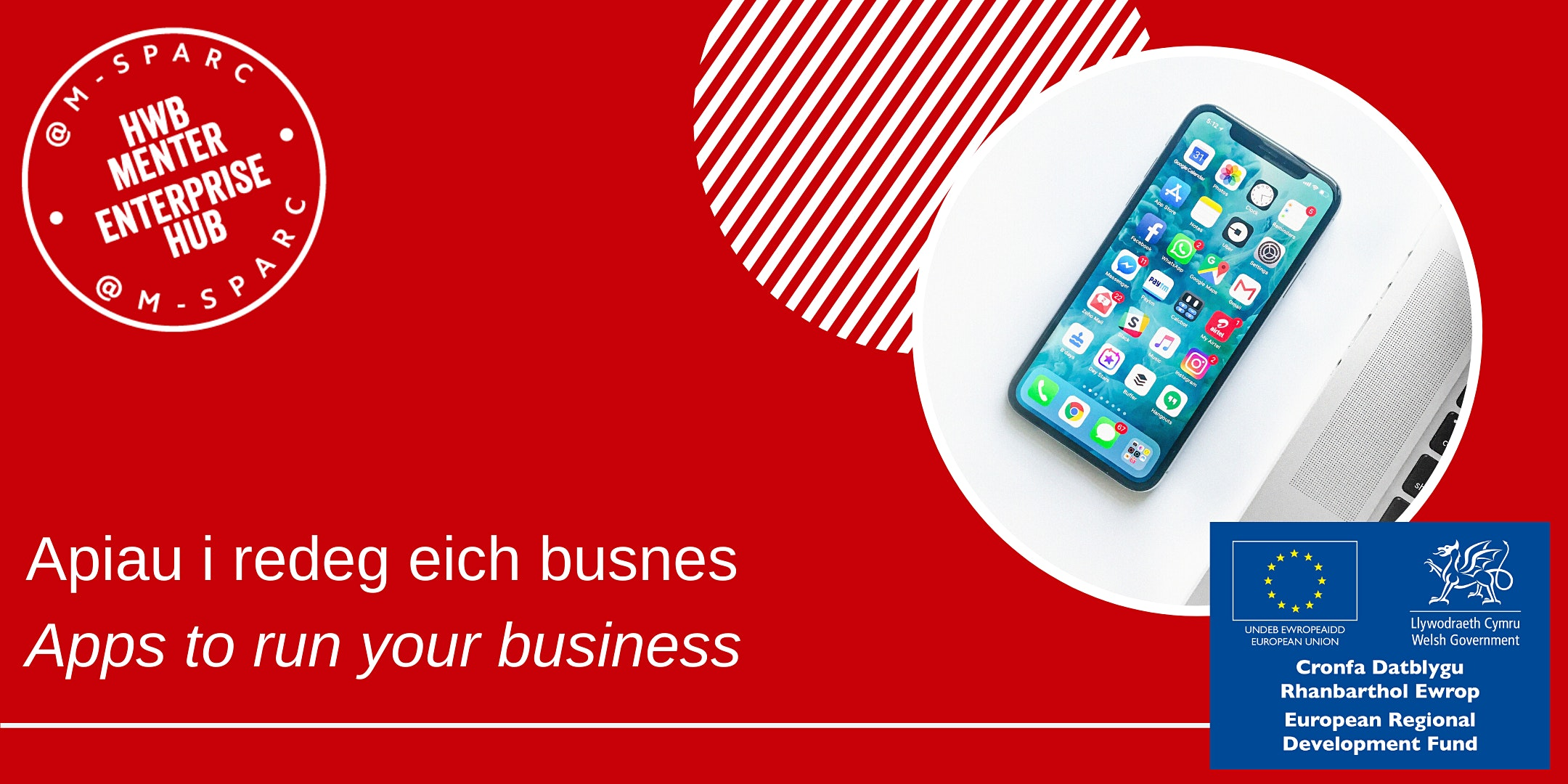 Covid-19:  Apiau  i redeg eich busnes /  Apps  to run your business