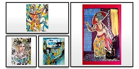 """Vernissage """"La joie de Vivre"""" de l'artiste peintre Gloria Vinci billets"""