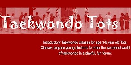 Taekwondo Tots - 2020 - Term 2 tickets