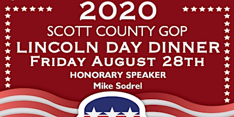 2020 Scott County Lincoln Day Dinner tickets