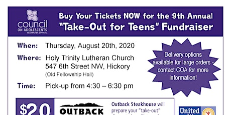 Take-Out for Teens tickets