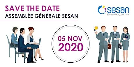 Assemblée Générale SESAN 2020 billets