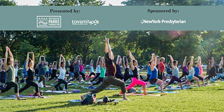 5th Annual Sunset Yoga in the Park: Flowers City Park 9/9 tickets
