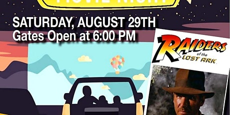 "Drive-In Movie ""Raiders of the Lost Ark"" tickets"