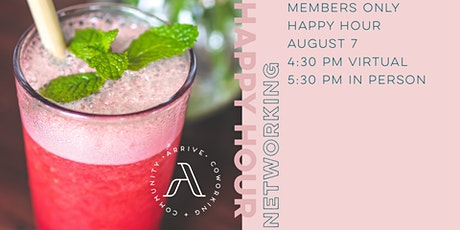 Happy Hour - Members Only tickets