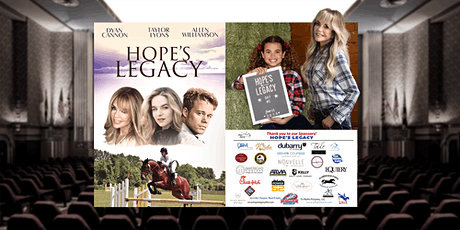 Hope's Legacy Premiere Screening at Fairwinds Farm tickets