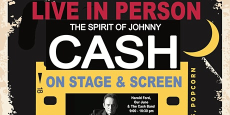 The Spirit of Johnny Cash LIVE on Stage and Screen- Malta Drive-In Theatre tickets