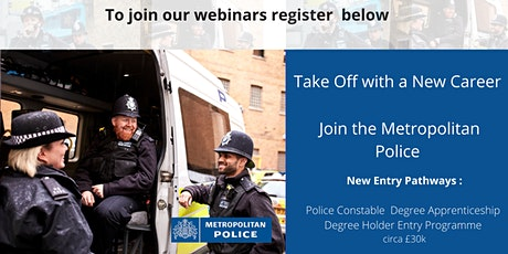 Take off with  a New Career with the Metropolitan Police tickets