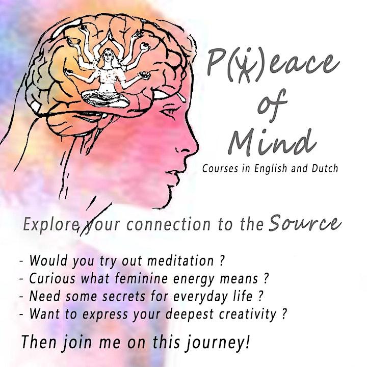 Creative Mindfulness - Peace of Mind -  Reis naar je innerlijke Vrouw image