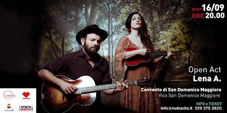 Ilaria Graziano & Francesco Forni - Nu' Tracks biglietti