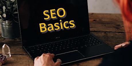 SEO Basics einfach erklärt: Lass dich mit deiner Website finden! Tickets