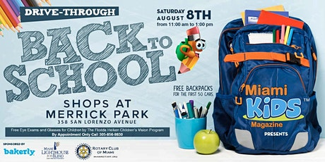 Miami Kids Magazine Back to School Drive-Through Celebration! tickets