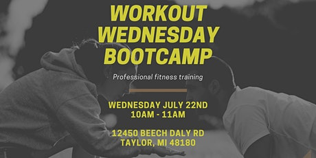 Workout Wednesday Bootcamp tickets