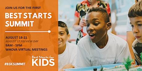 """Best Starts for Kids """"Virtual"""" Summit tickets"""