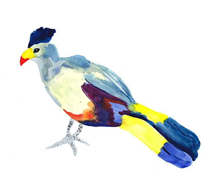 Watercolour Birds (online class) image