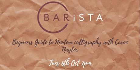 Beginners Guide to Modern Calligraphy tickets