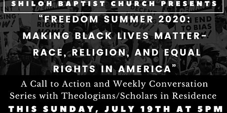 Freedom Summer 2020: Making Black Lives Matter in America tickets