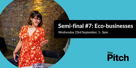 The Pitch 2020 Semi-finals: Eco-businesses tickets