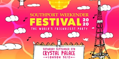SOUTHPORT WEEKENDER FESTIVAL 2020 Poster