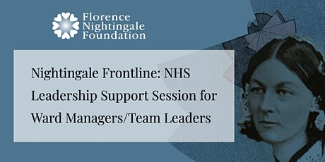 FNF Leadership Support Session for Ward Managers/Team Leaders tickets