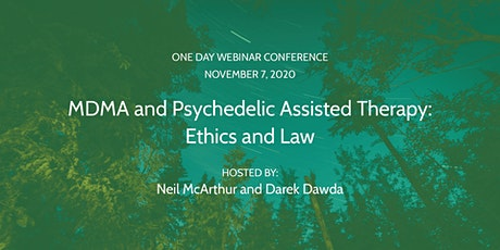 MDMA and Psychedelic Assisted Therapy: Ethics and Law tickets