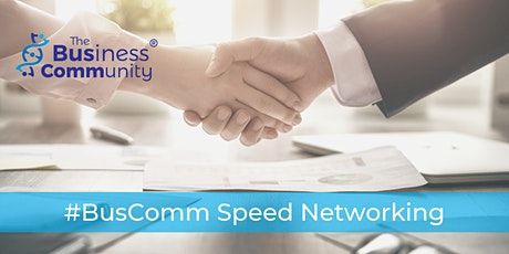 #BusComm Speed Networking tickets