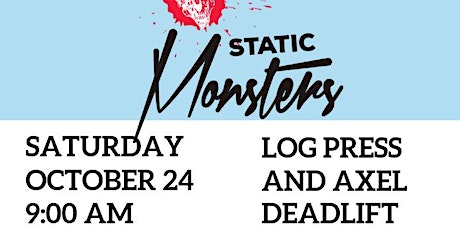 Static Monsters Worldwide - Chicago 2020 tickets