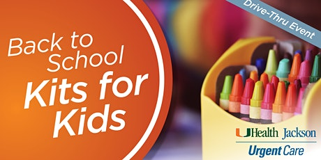 UHealth Jackson Urgent Care - Back to School Kits for Kids tickets