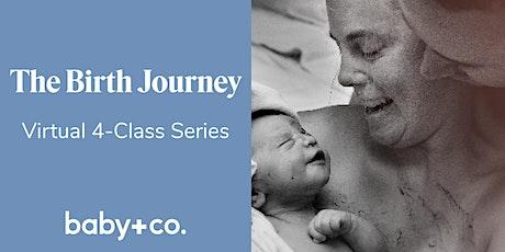 Birth Journey Childbirth + Early Parenting 4-Wk Virtual Class Sun 10/4-11/1