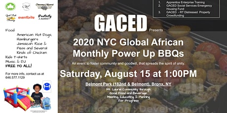 2020 NYC Global African Monthly Power Up BBQ tickets