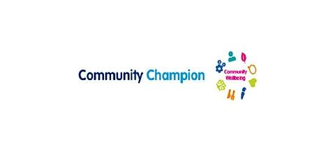 Community Champions Training - Cardiff tickets