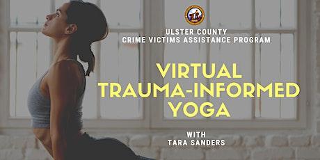 Virtual Trauma-Informed Yoga tickets