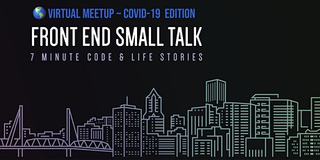 Copy of Front End Small Talk - Meetup #15 ingressos