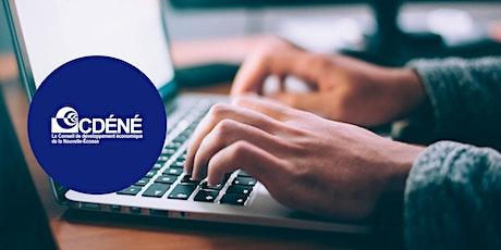 Atelier 6 : Comment faire du réseautage en ligne billets