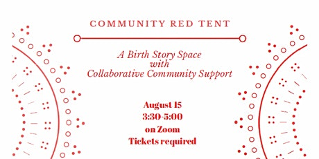 Community Red Tent tickets