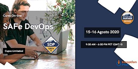 Curso Online - SAFe DevOps - 15 y 16 de Agosto entradas