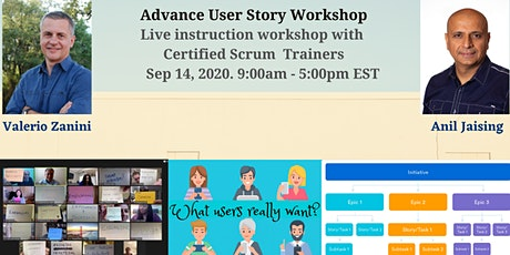 Advanced User Stories Workshop -Certified Product Innovation Associate CPIA tickets
