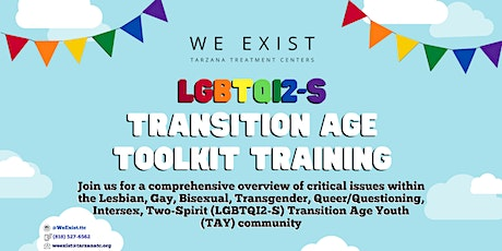 We Exist LGBTQI2-S Toolkit Training South Bay August 2020 tickets