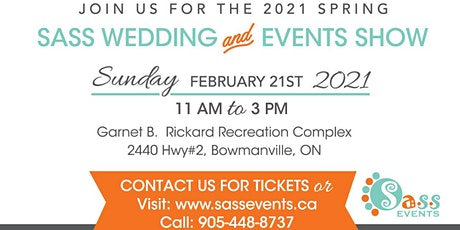 Sass Spring Wedding & Event Show 2021 tickets