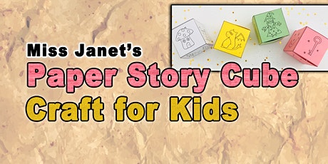 Paper Story Cubes Craft tickets